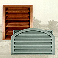 CW Ohio - Louvers, Cedar and Primed, Siding Accessories